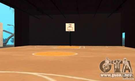 Basketball Court v6.0 para GTA San Andreas segunda pantalla
