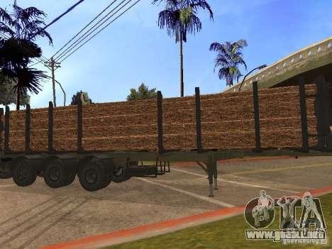 Remolque MAZ 99864 para GTA San Andreas left