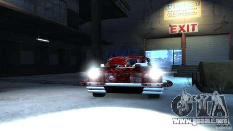 Apocalyptic Mustang Concept (Beta) para GTA 4 Vista posterior izquierda