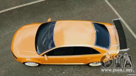 Audi RS4 EmreAKIN Edition para GTA 4 visión correcta