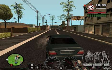 Disparar fuera del auto en GTA 4 para GTA San Andreas tercera pantalla