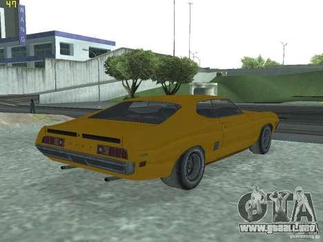 Ford Torino 70 para GTA San Andreas left