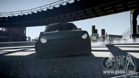 Volkswagen Golf 2 Low is a Life Style para GTA 4 visión correcta
