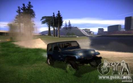 Mi configuración ENB v2 para GTA San Andreas octavo de pantalla
