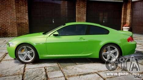 BMW M6 2010 v1.0 para GTA 4 left