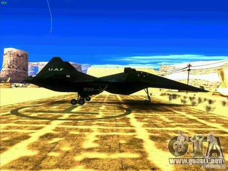 ADF-01 Falken para la visión correcta GTA San Andreas