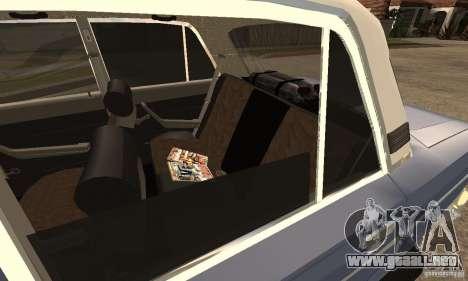 2106 VAZ viejo v2.0 para GTA San Andreas left