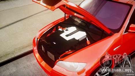 BMW X5M Chrome para GTA 4 visión correcta