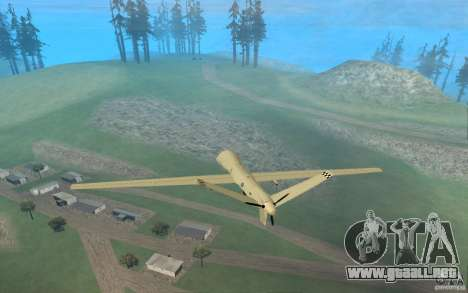 RQ9 Predator para GTA San Andreas left