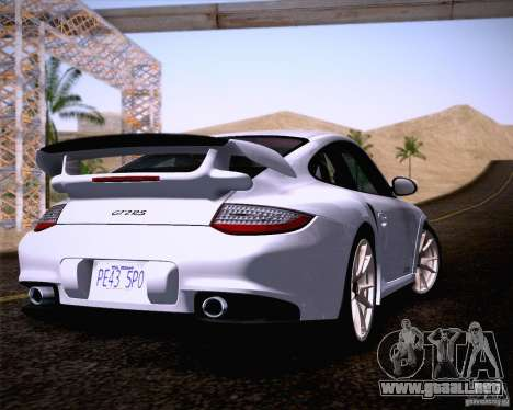Porsche 911 GT2 RS 2012 para GTA San Andreas left