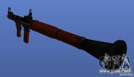 Weapons Retex para GTA 4 quinta pantalla