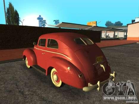 Ford 1940 v8 para GTA San Andreas left