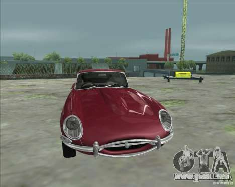 Jaguar E-Type Coupe para GTA San Andreas