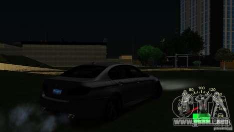 Velocímetro VAZ 2110 para GTA San Andreas tercera pantalla