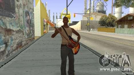 Canciones de la película en la guitarra para GTA San Andreas undécima de pantalla