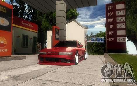 Nissan Silvia S13 Clean Edition para vista lateral GTA San Andreas