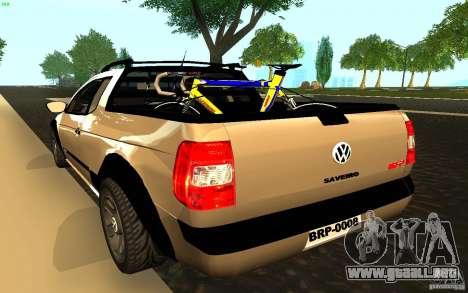 Volkswagen Saveiro para GTA San Andreas left