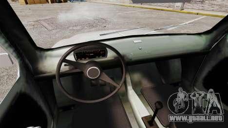 Zastava 750 para GTA 4 vista interior