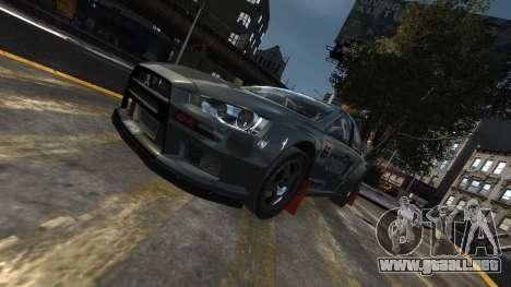 Mitsubishi Lancer Evolution para GTA 4