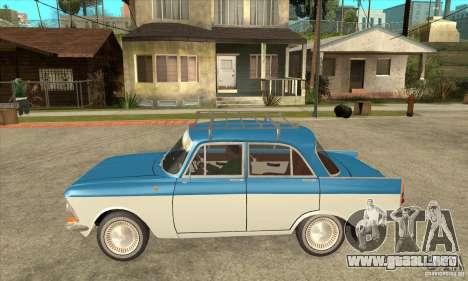 AZLK 408 para GTA San Andreas left