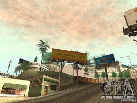El anuncio nuevo de la moda para GTA San Andreas