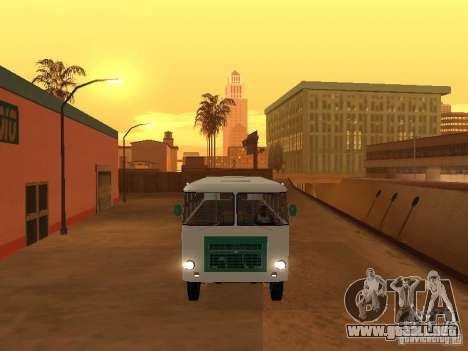 G1A1 Kuban para GTA San Andreas vista posterior izquierda