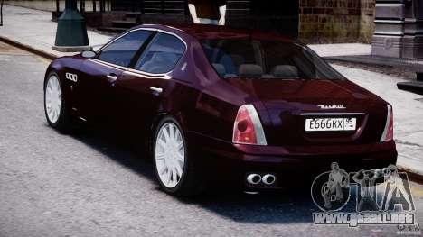 Maserati Quattroporte V para GTA 4 visión correcta