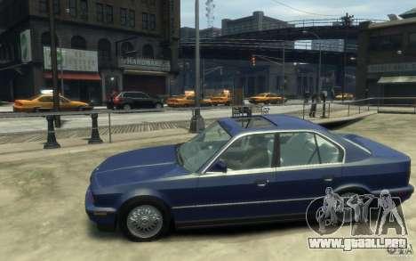 BMW 535i (E34) para GTA 4 left