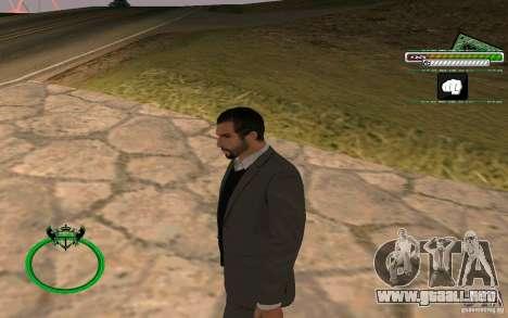 Nuevo empresario de piel HD para GTA San Andreas segunda pantalla