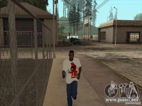 Omsk pájaro t-shirt para GTA San Andreas