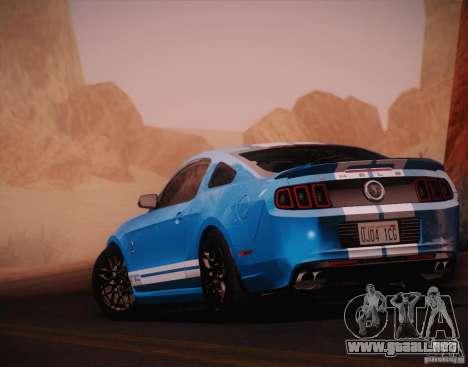 Ford Shelby GT500 2013 para GTA San Andreas left