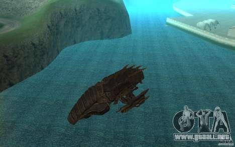Nave Predator desde el juego Aliens vs Predator  para GTA San Andreas