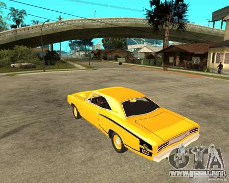 Dodge Coronet Super Bee 70 para GTA San Andreas left