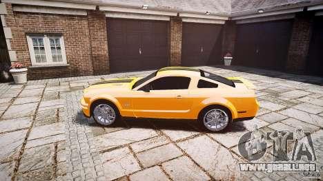 Shelby GT 500 KR 2008 K.I.T.T. para GTA 4 left