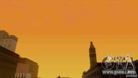 BM Timecyc v1.1 Real Sky para GTA San Andreas twelth pantalla
