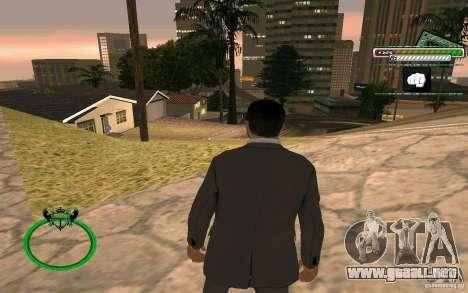 Nuevo empresario de piel HD para GTA San Andreas sucesivamente de pantalla