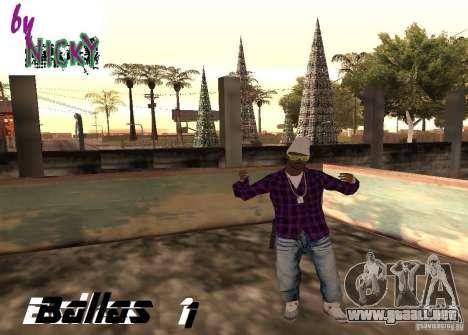 Pak pieles Ballas para GTA San Andreas