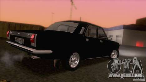 Volga GAZ 24-10 para vista inferior GTA San Andreas