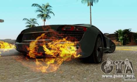 Audi R8 LeMans para la visión correcta GTA San Andreas