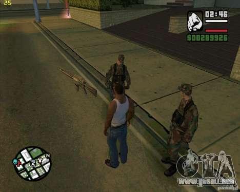 Tirar armas para GTA San Andreas segunda pantalla