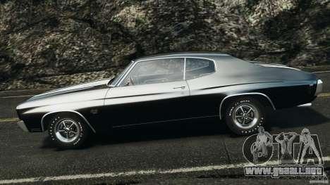 Chevrolet Chevelle SS 1970 v1.0 para GTA 4 left