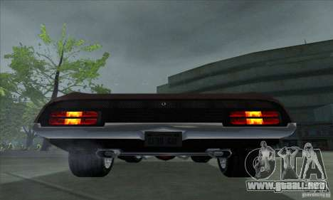 Ford Falcon GT Pursuit Special V8 Interceptor para la visión correcta GTA San Andreas