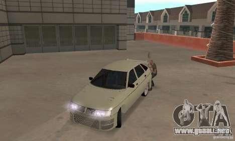 LADA 2112 Tuning (F) para GTA San Andreas left