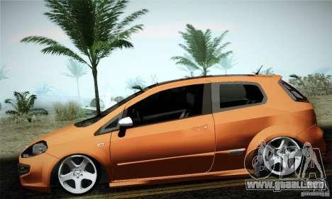 Fiat Punto Evo 2010 Edit para GTA San Andreas left
