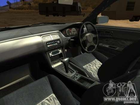 Nissan Silvia S14 JDM para la vista superior GTA San Andreas