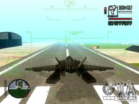 Xa-20 razorback para vista lateral GTA San Andreas