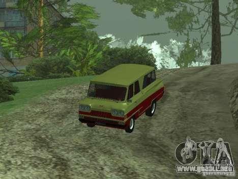 Vehículo Start v1.1 para GTA San Andreas vista posterior izquierda