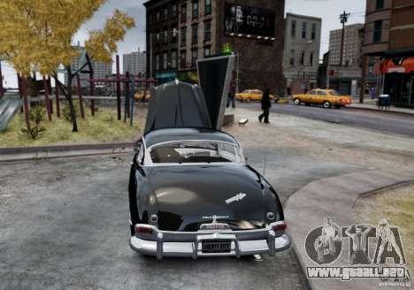 Hudson Hornet Club Coupe para GTA 4 Vista posterior izquierda