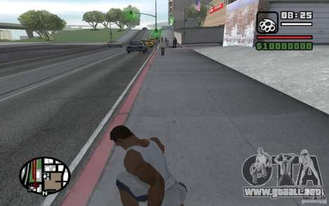 Dagas para GTA San Andreas sucesivamente de pantalla