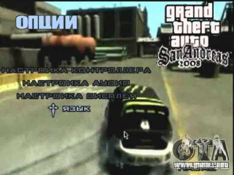 Video de Gta4 menú deriva para GTA San Andreas